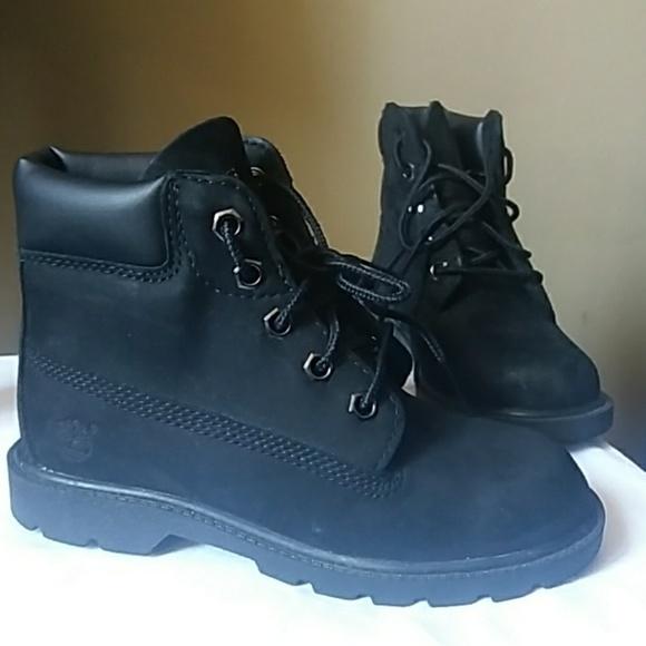 Timberland Shoes   Boys Black